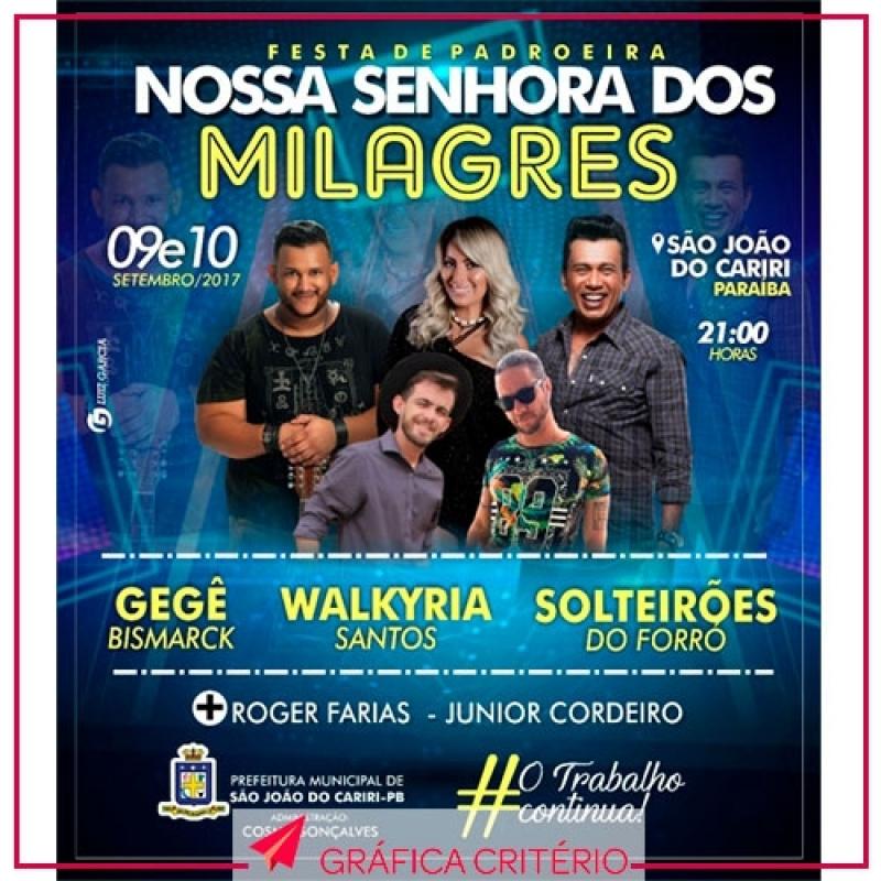 Banner para Festa Alto de Pinheiros - Banner Congresso