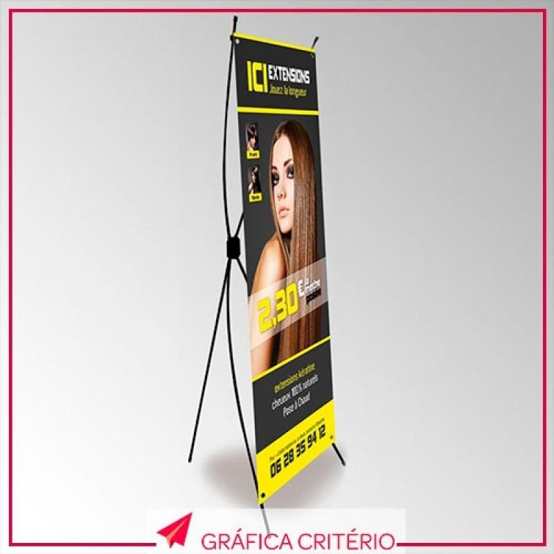 Banner Roll-up Sítio Boa Vista - Banner para Estética