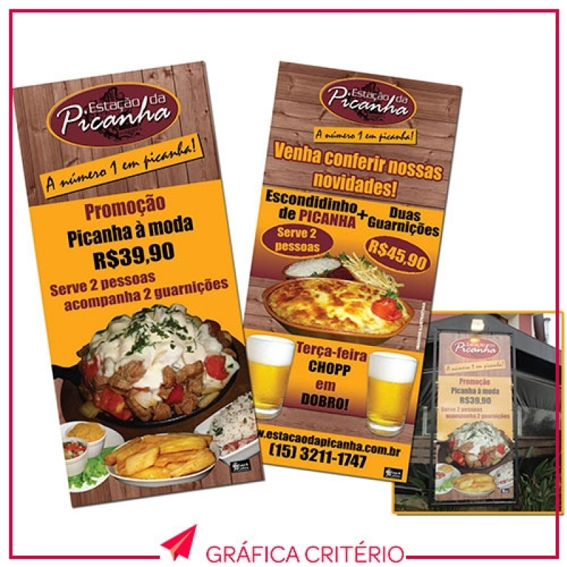 Banners em Lona Glicério - Banner Lona Front Light
