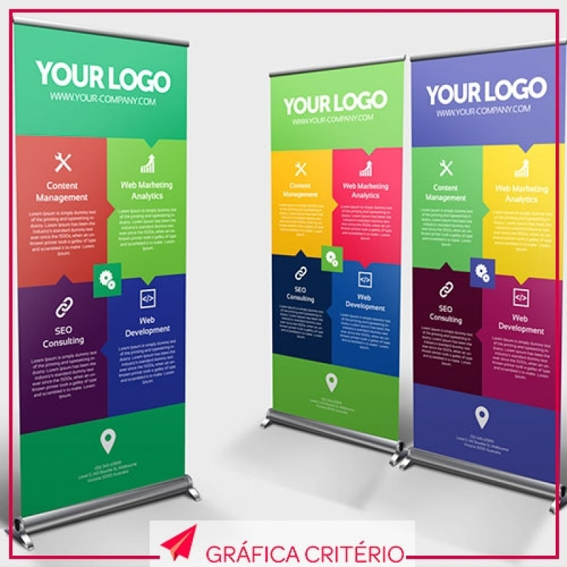 Banners Roll-up Zona Oeste - Banner para Eventos