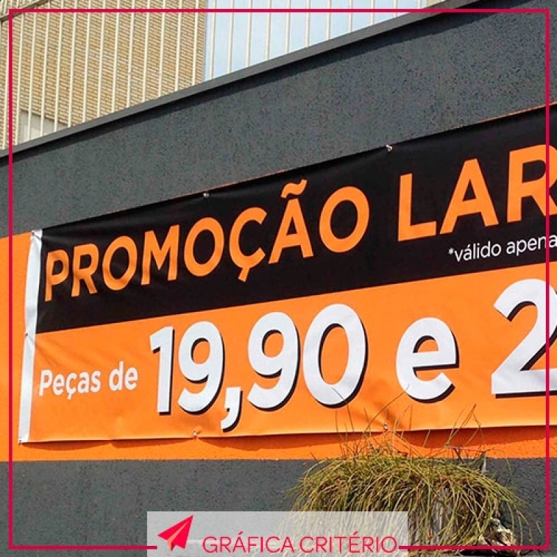 Faixas e Banners Orçamento Vila Romana - Banner Roll-up
