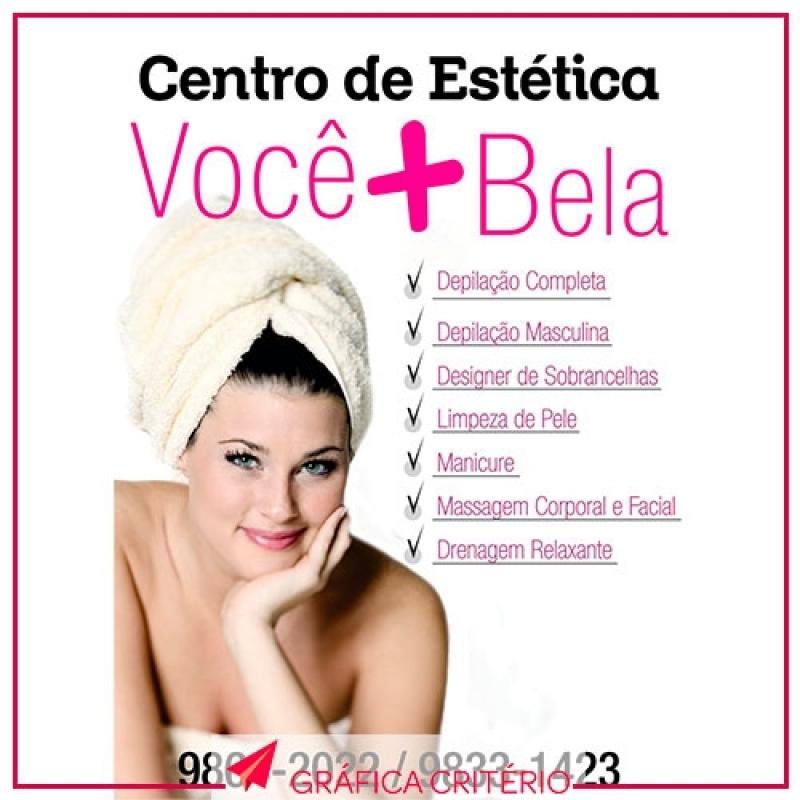 Gráfica para Banner para Estética Vila Ida - Faixas e Banners