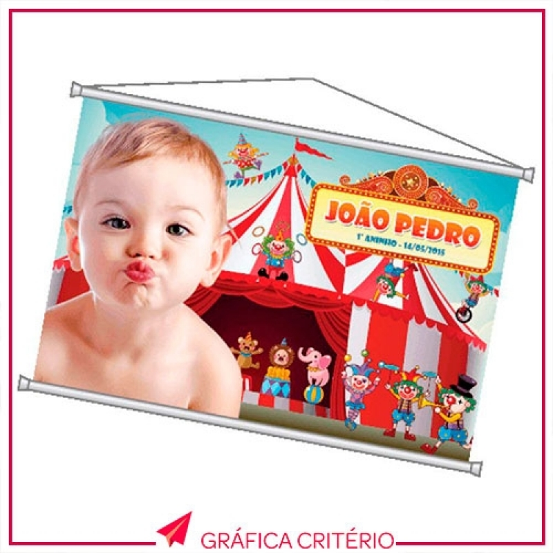 Gráfica para Fazer Banner Lona Front Light Zona Oeste - Banner Roll-up