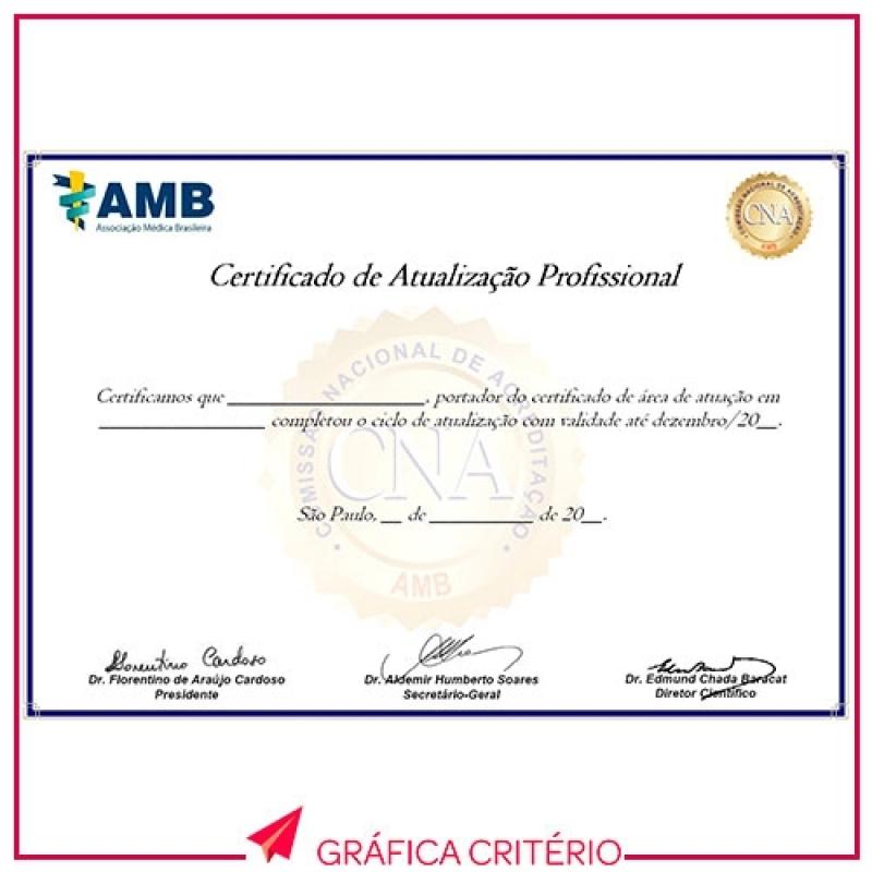 Gráfica para Impressão de Certificados Avenida Paulista - Impressão de Tcc