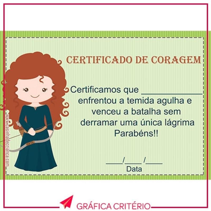 Impressão de Certificados Vila Pirituba - Impressão de Tcc