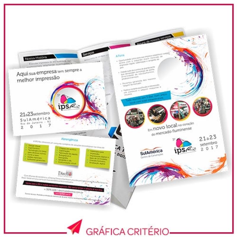 Impressão de Folders Vila Romana - Impressão de Plantas