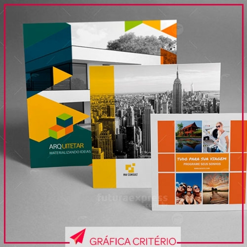 Impressão de Folhetos Alto de Pinheiros - Impressão em Couchê