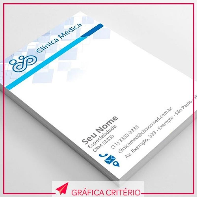 Impressão de Receituários Preço Vila Jataí - Impressão de Convites