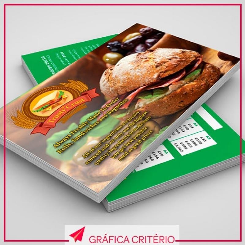 Serviço de Impressão de Folhetos Jardim Ligia - Impressão de Pastas
