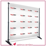 banners backdrop Vila Beatriz