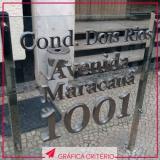 comunicação visual e sinalização valor Vila Nogueira