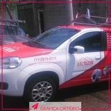 comunicação visual para automóveis Pinheiros