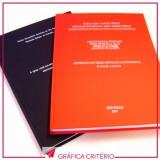 gráfica para impressão e encadernação de capa dura Vila Sônia