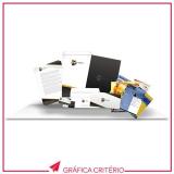 impressão de folders preço Santa Cecília
