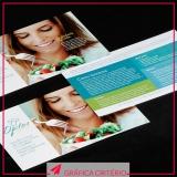 impressão de material para uso publicitário valor Bela Vista