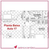 impressão de plantas preço Vila Romana