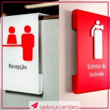 serviço de comunicação visual de placas de sinalização Pinheiros