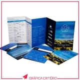 serviço de impressão de folders Jardim Guedala