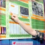 serviço de impressão de pôster acadêmico Jardim Europa
